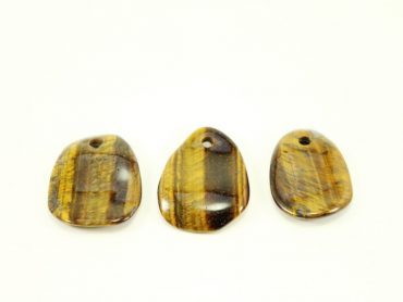 tiger eye dog tag- Crystals- Crystal Dreams