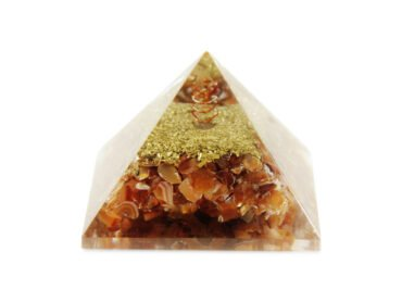 Carnelian Orgone Pyramid - Crystal Dreams