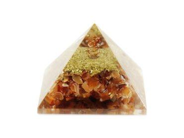 Carnelian Orgone Pyramid - Crystal Dreams
