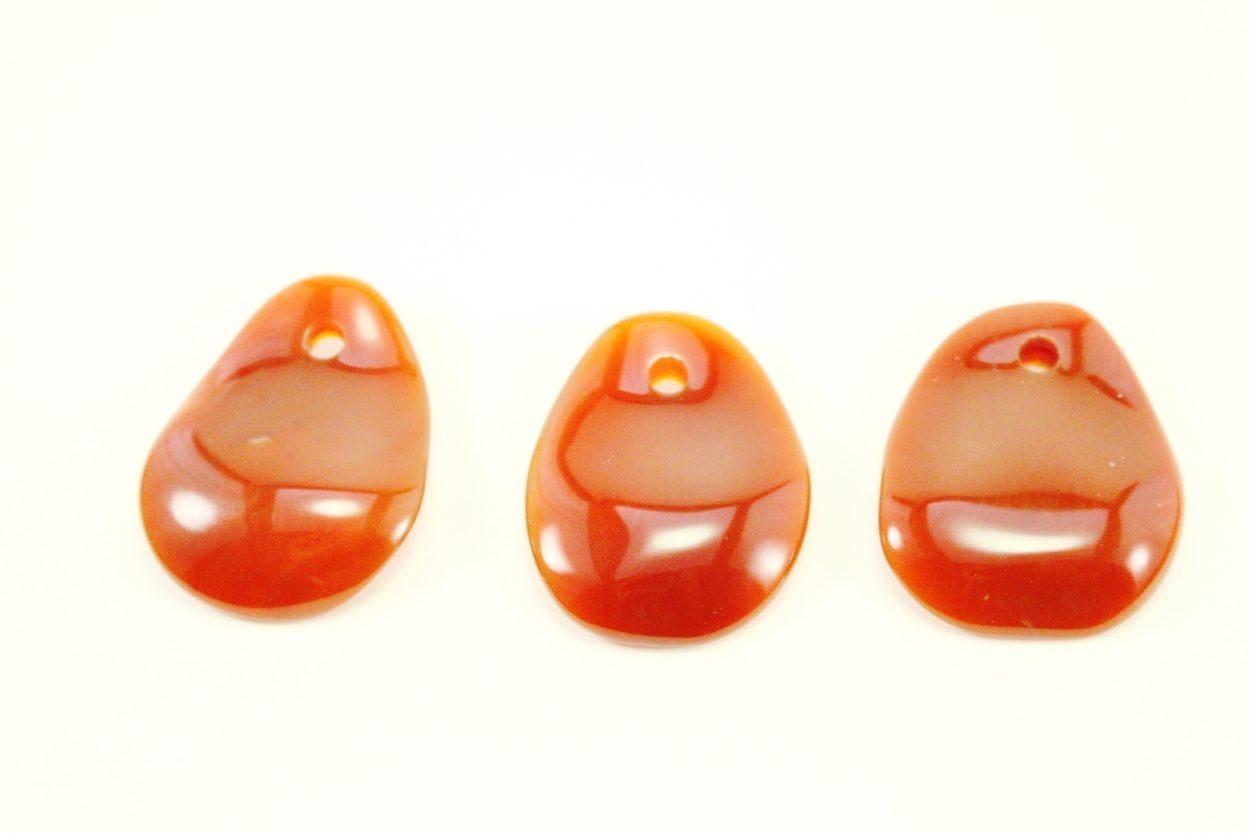 Carnelian Crystal Necklace - Pendant - Dog Tag - Jewelry 5