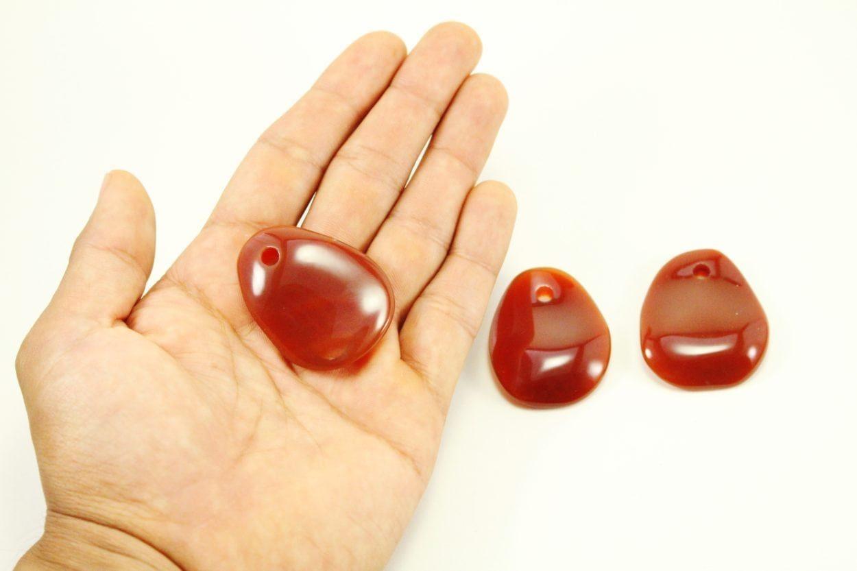 Carnelian Crystal Necklace - Pendant - Dog Tag - Jewelry 4