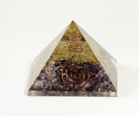 Crystal Dreams Orgonite Pyramid - Black Tourmaline
