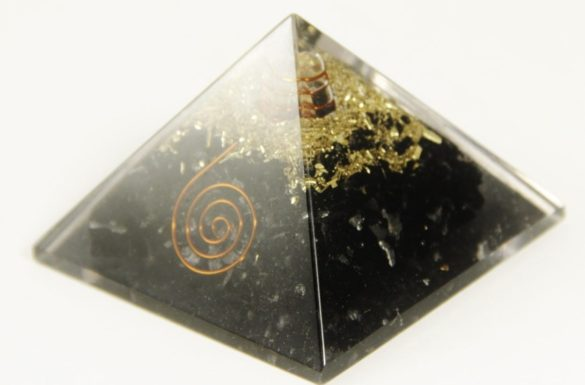 black tourmaline orgonite pyramid- Crystal Dreams