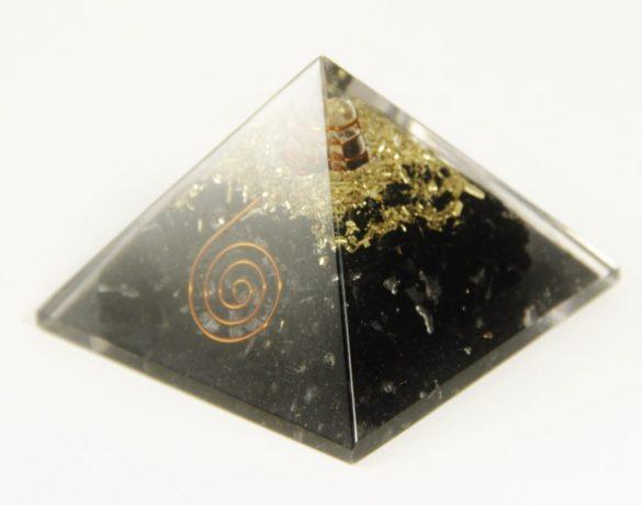 black tourmaline orgonite pyramid- Crystal Dreams