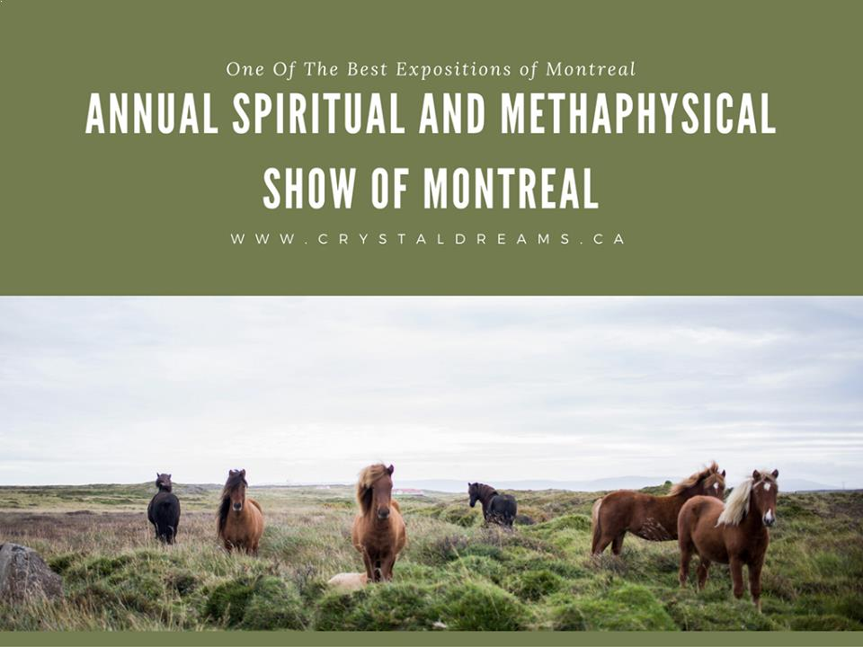 Crystal Dreams Spiritual & Metaphysical Show of Montreal