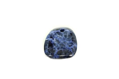Sodalite Crystal Dog Tag Pendant - Crystal Dreams