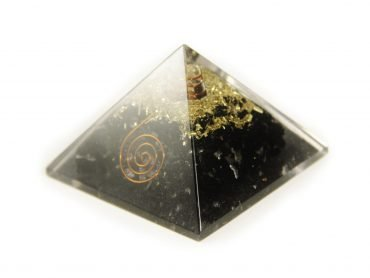 Black tourmaline Orgonite Pyramid - Crystal Dreams