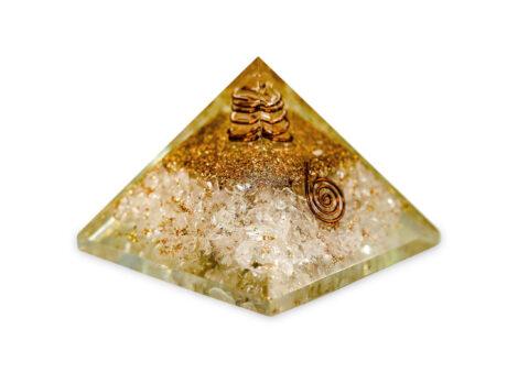 clear quartz orgonite - pyramid-crystal-Crystal Dreams