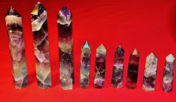 Crystal Dreams Propriétés de gemme de quartz de fluorite