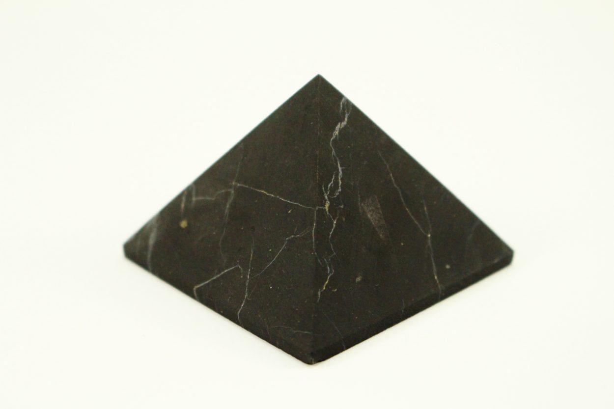 Crystal Dreams Unpolished Shungite Crystal Pyramid 100% natural 1