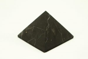 Crystal Dreams Unpolished Shungite Crystal Pyramid 100% natural 1