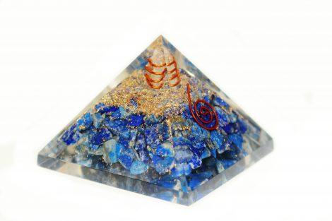 Orgone Pyramid Lapis Lazuli (L) - Crystal Dreams