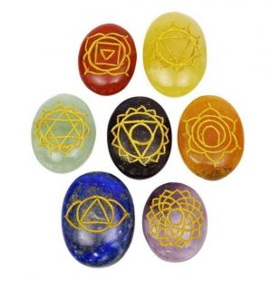 Crystal Dreams 7 Chakra Crystals Set