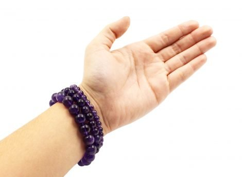 Amethyst bracelets - Crystal Dreams