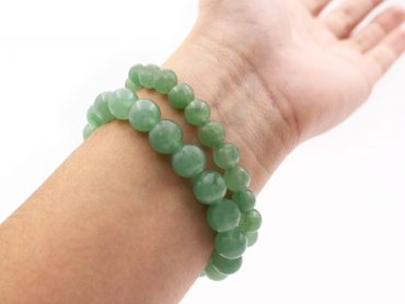 Aventurine Bracelet (10 mm, 8 mm or 6mm) - Crystal Dreams