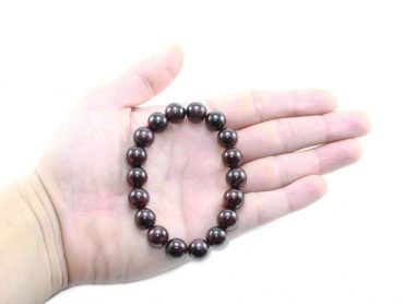 Garnet Bracelet (10 mm, 8 mm or 6mm) - Crystal Dreams