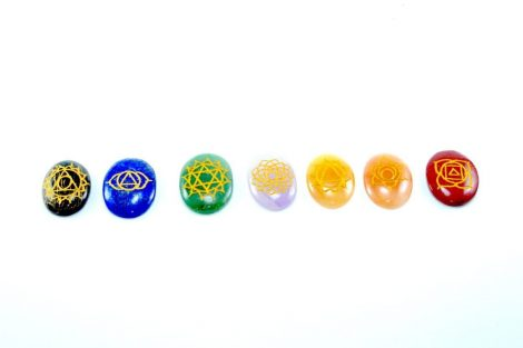 Crystal Dreams 7 Chakra Crystals Set 3