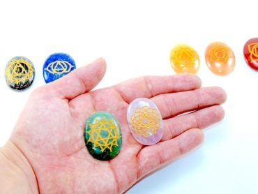 Crystal Dreams 7 Chakra Crystals Set 1