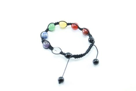 Crystal Dreams 7 Chakra Set Crystals Adjustable Bracelet 3
