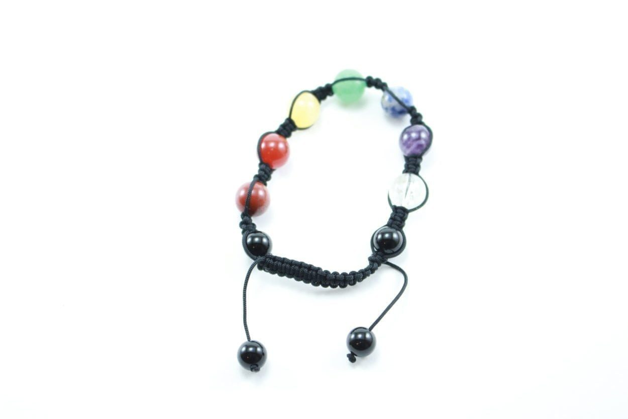 Crystal Dreams 7 Chakra Set Crystals Adjustable Bracelet 2