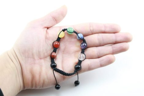 Crystal Dreams 7 Chakra Set Crystals Adjustable Bracelet 1