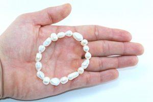 Crystal Dreams Freshwater Pearls Bracelet