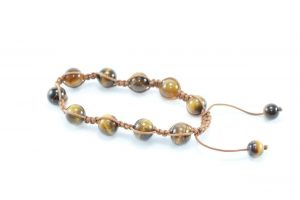 Crystal Dreams Tiger Eye Bracelet