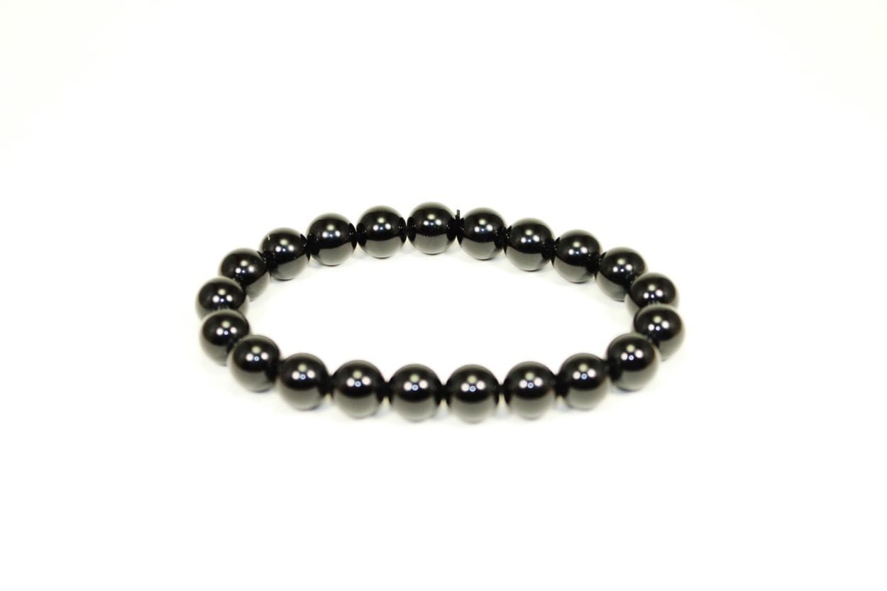 100% Authentic Obsidian Bracelet 4