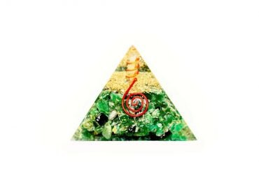 Orgone Pyramid Jade (L) - Crystal Dreams