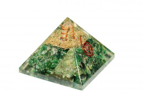 Orgone Pyramid Jade (M) - Crystal Dreams