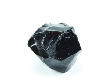 Crystal Dreams Black Obsidian Crystal - Large Gemstone In Rough Form