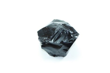 Crystal Dreams Black Obsidian Crystal - Large Gemstone In Rough Form