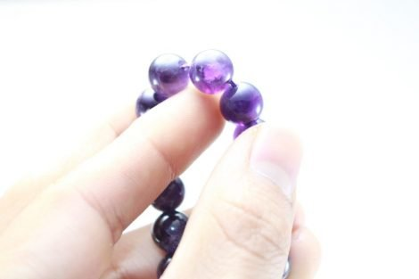 Crystal Dreams World 100% Amethyst Beads Strand From Spain