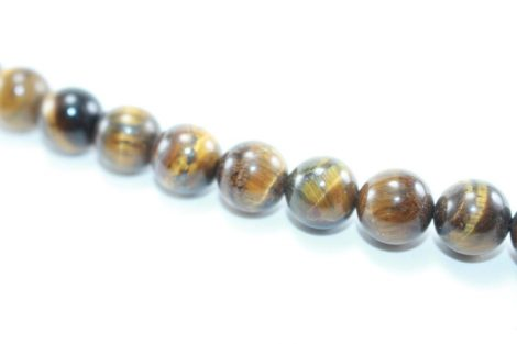 Crystal Dreams World 100% Authentic Tiger Eye Crystal Beads Strand 3