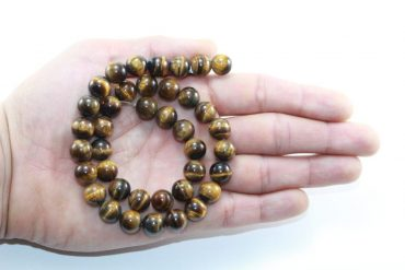 Crystal Dreams World 100% Authentic Tiger Eye Crystal Beads Strand