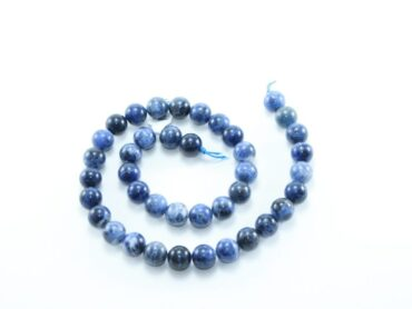 Crystal Dreams World 100% Authentic Sodalite Crystal Beads Strand 1