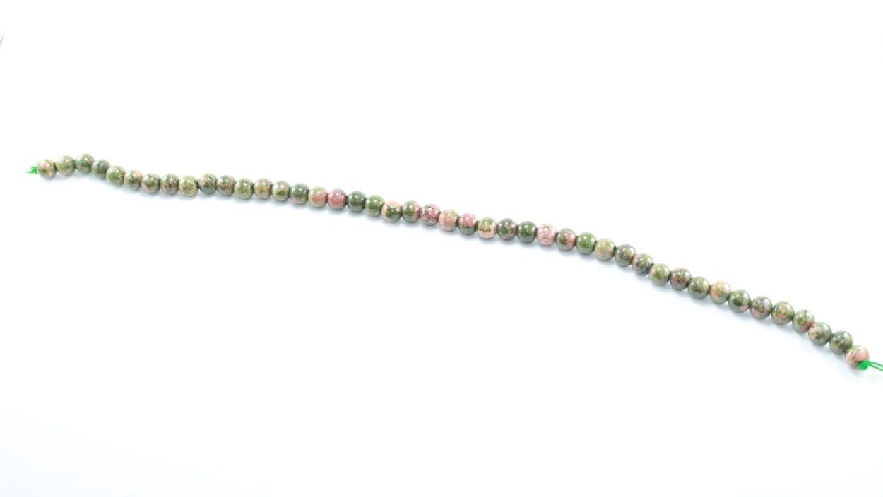 Crystal Dreams World 100% Authentic Unakite Crystal Beads Strand 5