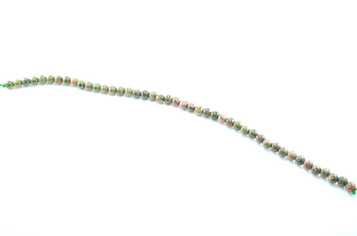 Crystal Dreams World 100% Authentic Unakite Crystal Beads Strand 4