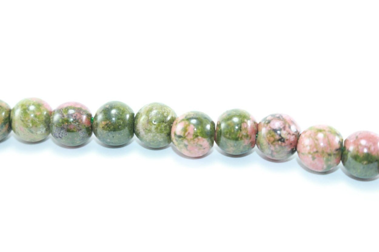 Crystal Dreams World 100% Authentic Unakite Crystal Beads Strand 3