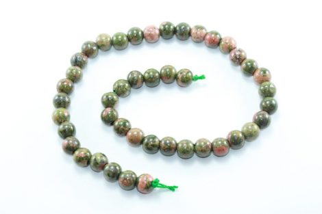 Crystal Dreams World 100% Authentic Unakite Crystal Beads Strand 1