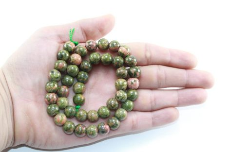 Crystal Dreams World 100% Authentic Unakite Crystal Beads Strand