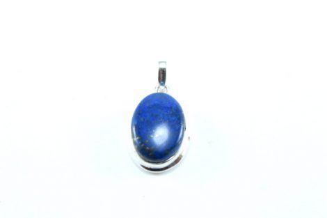 Crystal Dreams Sterling Silver Pedant with Lapis Lazuli Gemstone