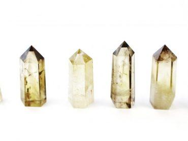 Crystal Dreams Smokey Quartz Crystal Prisms / Points