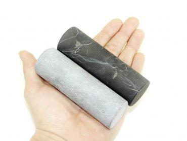 Unpolished Shungite Crystal Pharaoh Cylinders