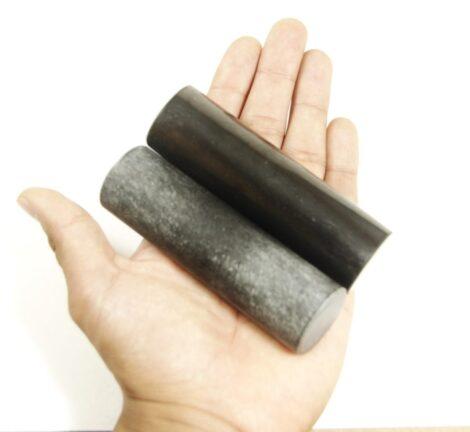 Polished Shungite Crystal Pharaoh Cylinders
