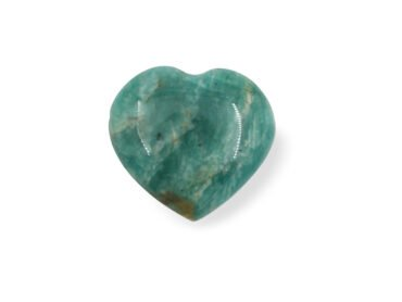 Amazonite Heart Pendant - Crystal Dreams