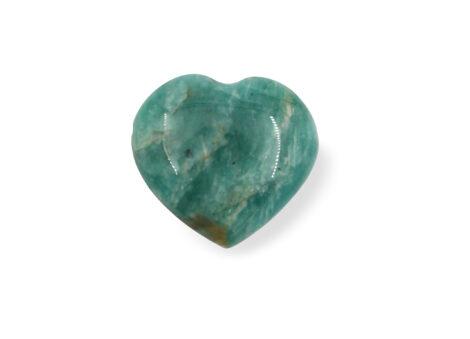 Amazonite Heart Pendant - Crystal Dreams