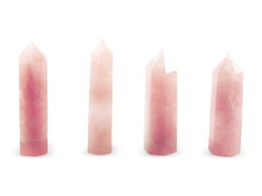 Rose Quartz Prism/ Point - Crystal Dreams