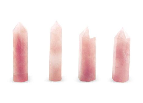 Rose Quartz Prism/ Point - Crystal Dreams