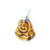 Tiger Eye Buddha Pendant - Crystal Dreams